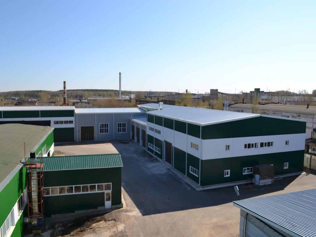 Строительство здания метрологии, металлообработки и гаража в г.Бугульме