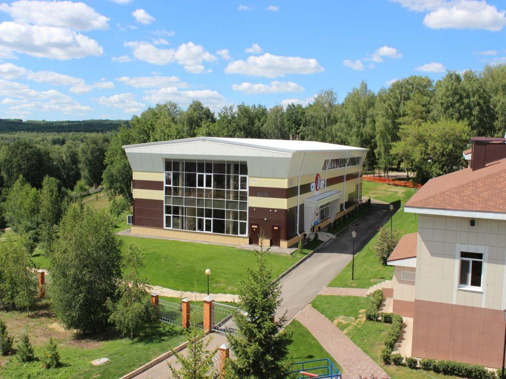 Строительство спортзала для базы отдыха «Иволга» в г.Бавлы