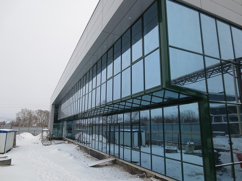 Административно-бытовое здание ООО НПО «НТЭС»